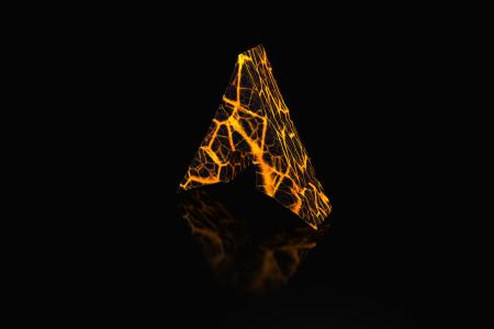 Arch Logo Lava HD