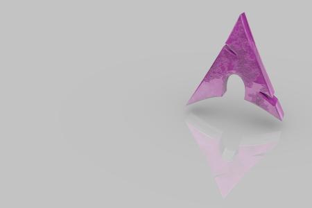 Arch Logo Purple