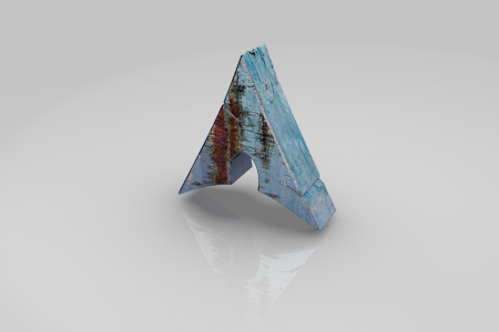 Arch Logo Rusted